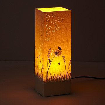 Butterfly Shadow Paper Lantern