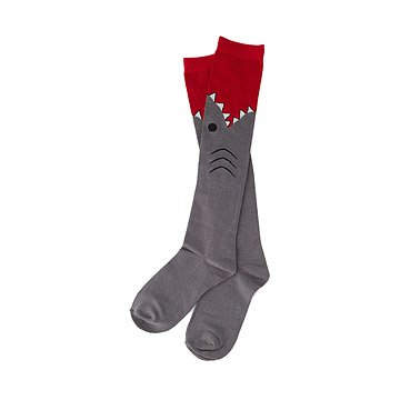 Shark Knee High Socks - Womens