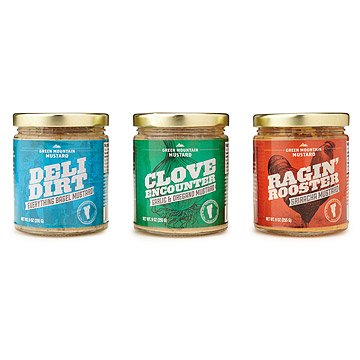 Flavored Mustard - Set of 3