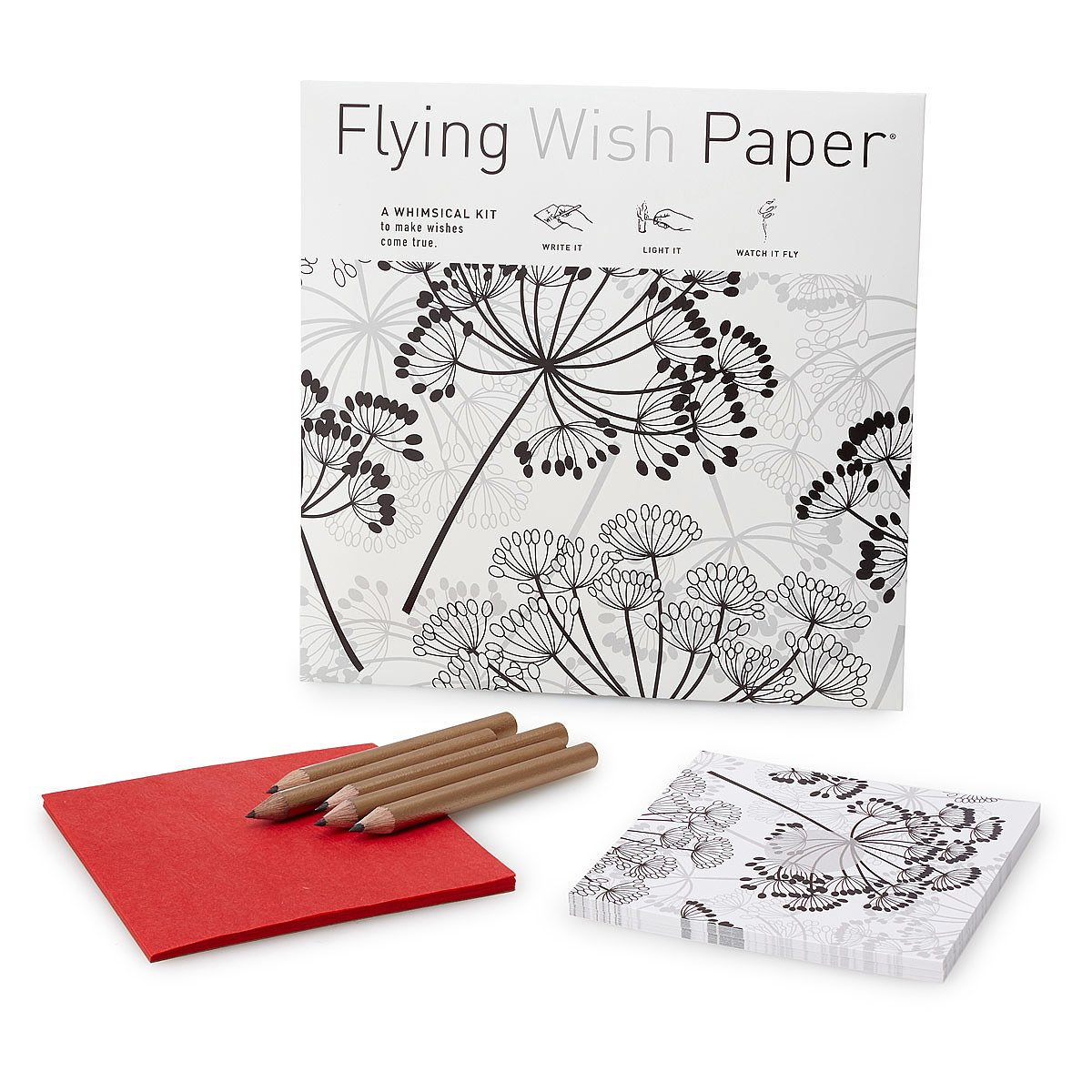 Dandelion Flying Wish Paper