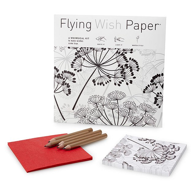 Dandelion Flying Wish Paper