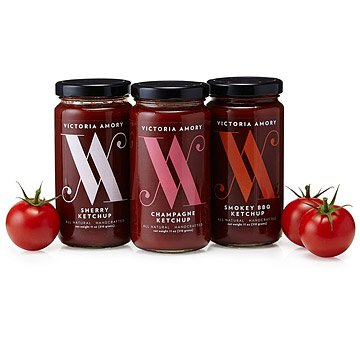 Ketchup Collection - Set of 3