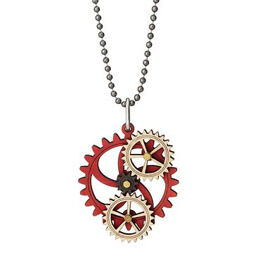 Kinetic Gear Necklace