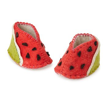 Watermelon Booties