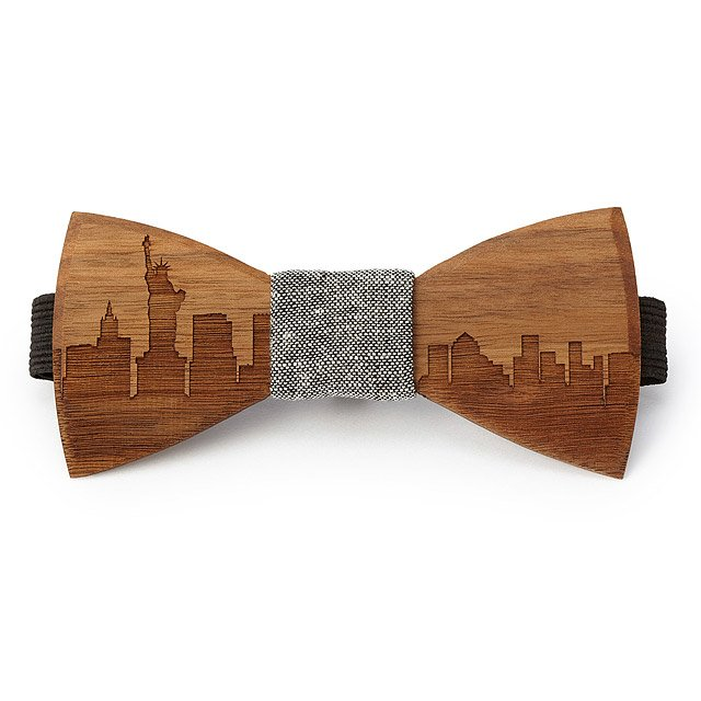 Skyline Wooden Bowties