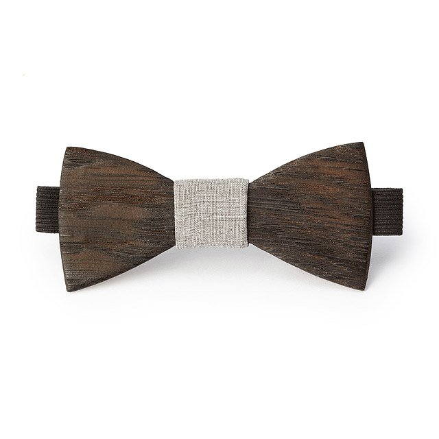 Reclaimed Whiskey Barrel Bow Tie