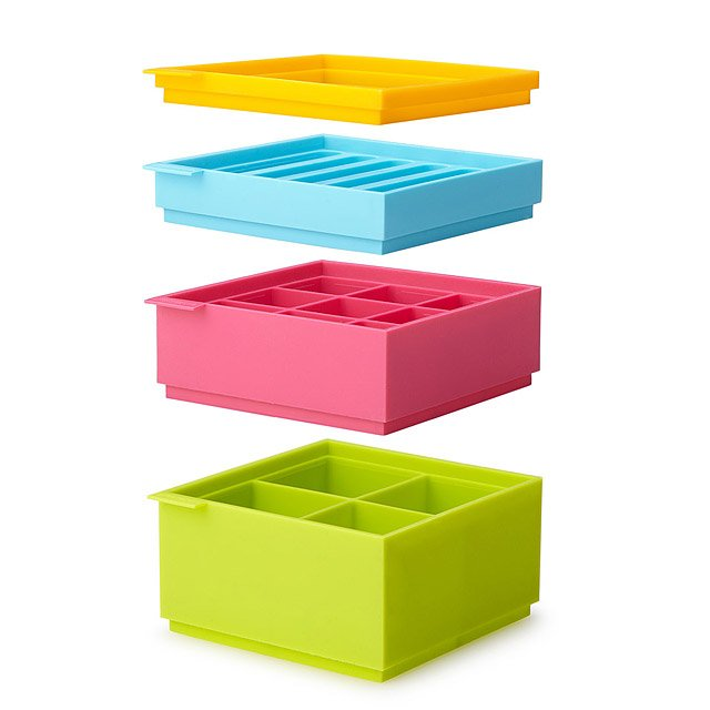 Stackable Ice Tray Set