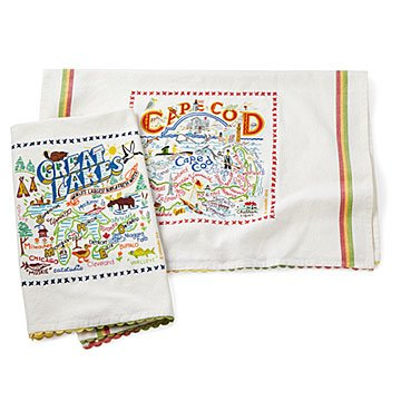 Coastal Dish Towel