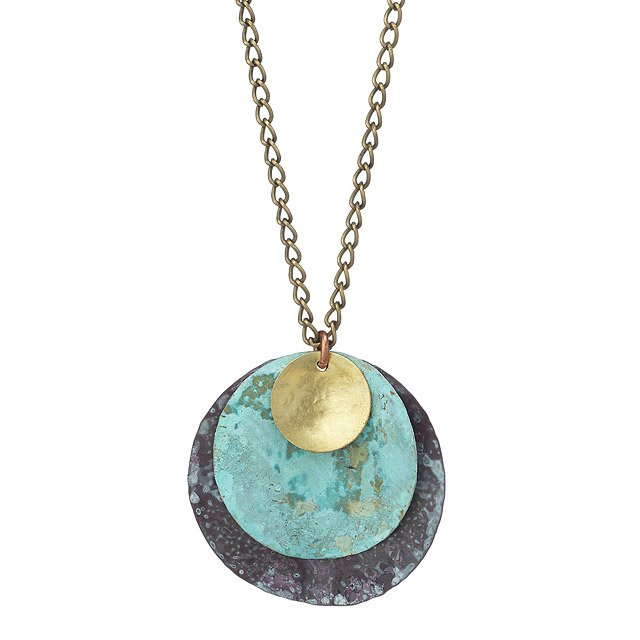 Patina Trio Necklace