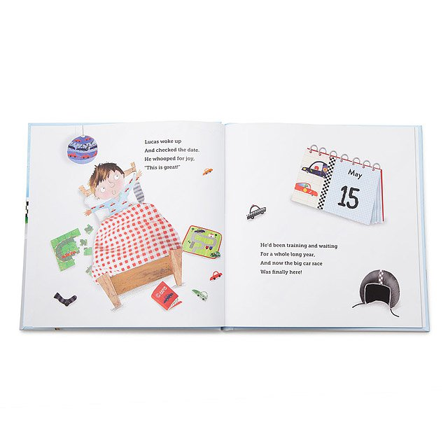 Little Boy's Personalized Speedster Book 2