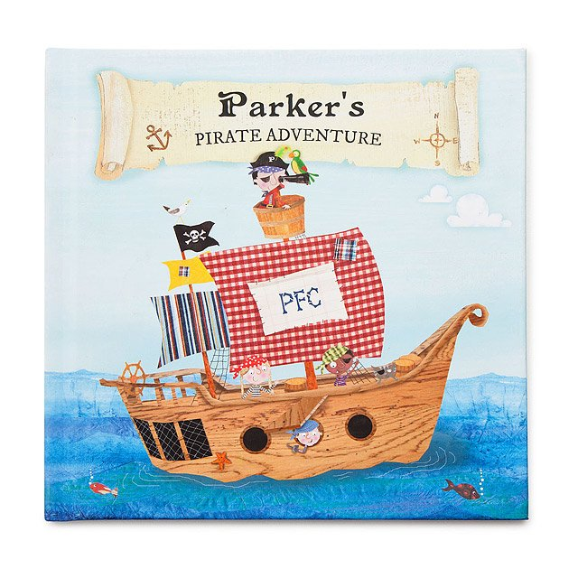 Little Boy's Personalized Pirate Adventure Book