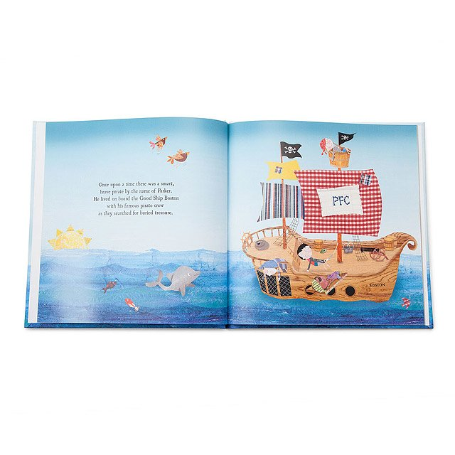 Little Boy's Personalized Pirate Adventure Book 2