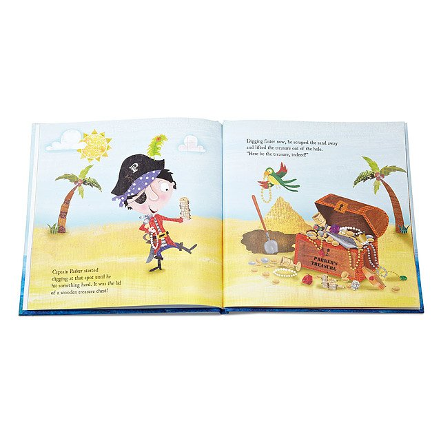 Little Boy's Personalized Pirate Adventure Book 4