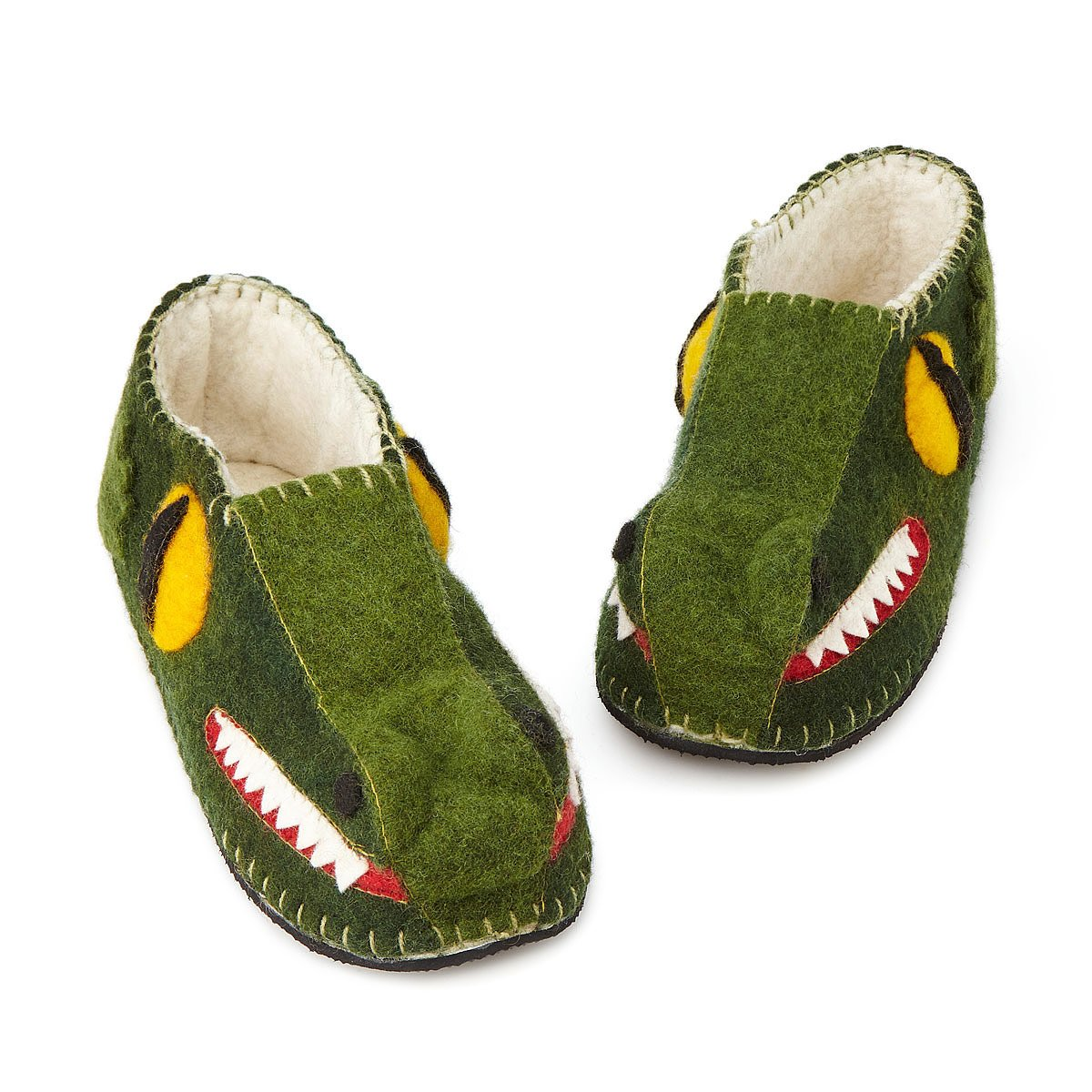 Handmade Alligator Slippers