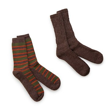 Alpaca Socks - Set of Two Pairs