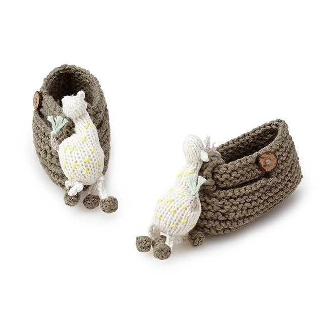 Giraffe Rattle Booties