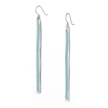 Seafoam Bar Earrings