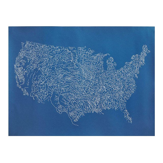Rivers of the US: All Things Merge into One