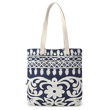 Flora Embroidered Tote