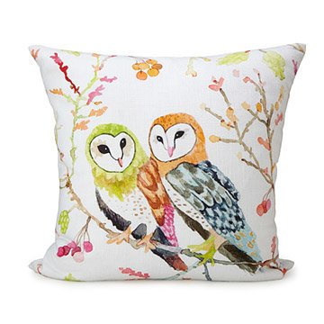 Barn Owls Pillow