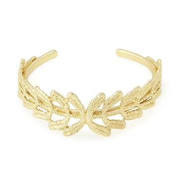 Vine Gold Dipped Lace Bracelet