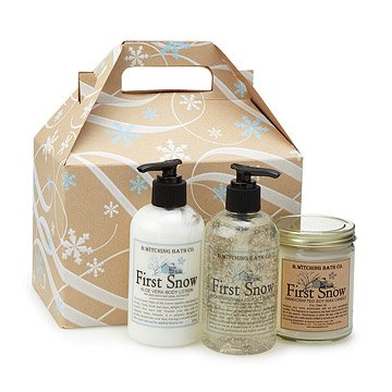 First Snow Bath and Body Gift Box