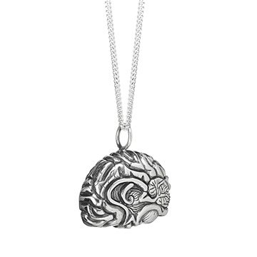 Anatomical Brain Pendant