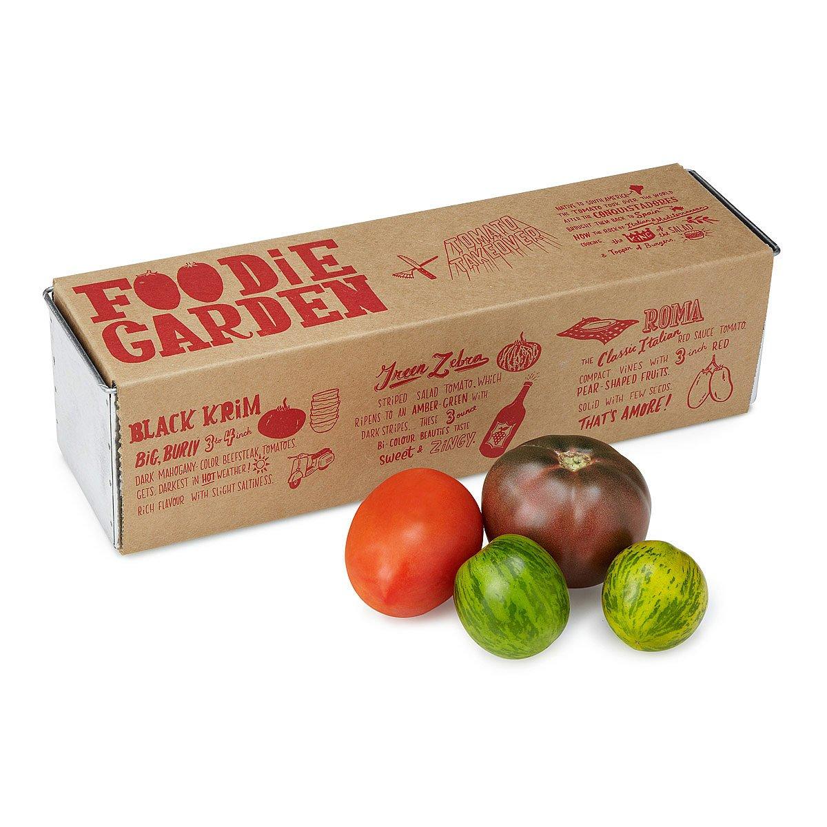 Kitchen Herb Garden Kit Kale In A Bag Grow Kit Fresh Diy Salad Uncommongoods
