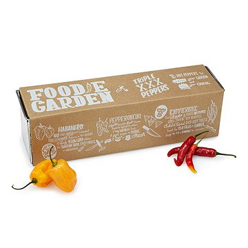 Triple Peppers Grow Kit