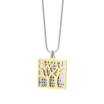 Growing Stronger Side by Side Necklace