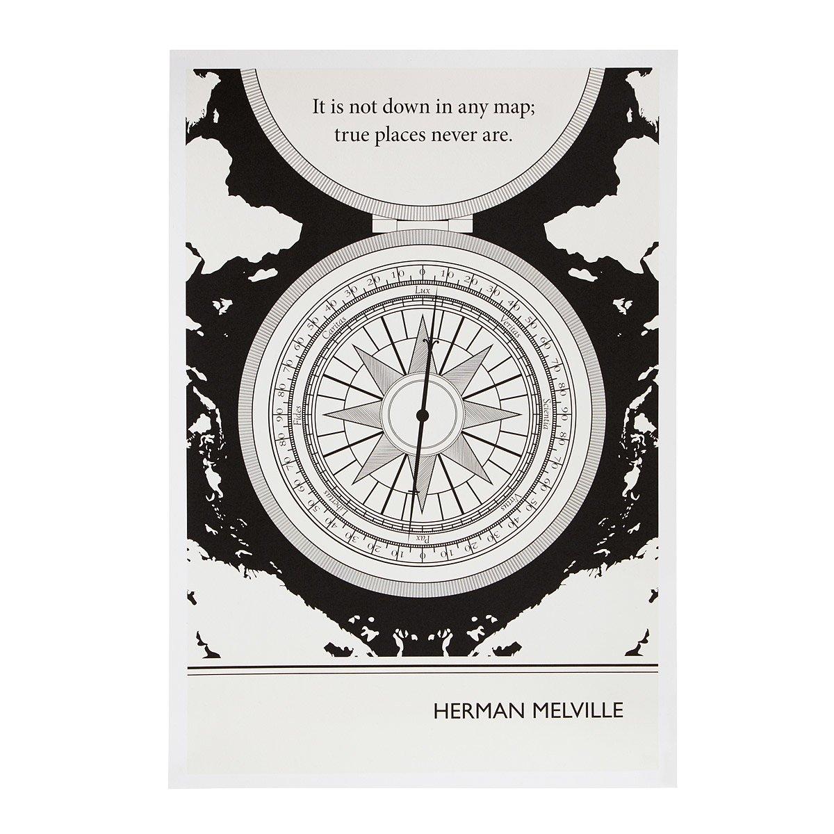 Melville Literary Poster