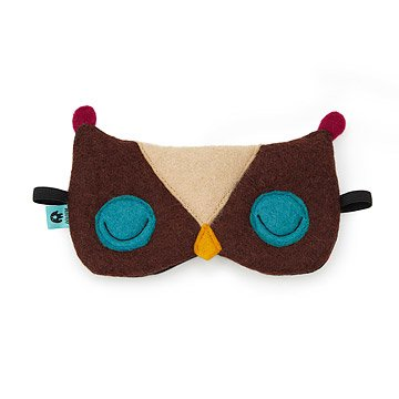 Felt Owl Sleeping Mask