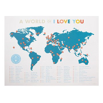 A world of i love you i love you in different languages a world of i love you gumiabroncs Gallery