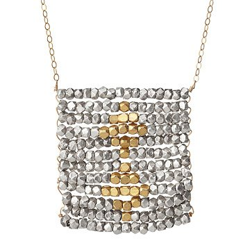 Midas Touch Silver and Gold Necklace