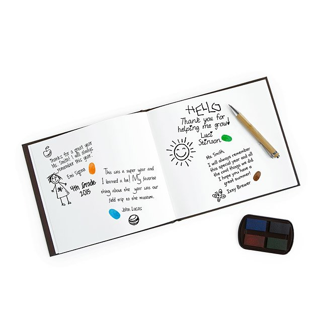 Teacher's Fingerprint Memory Book