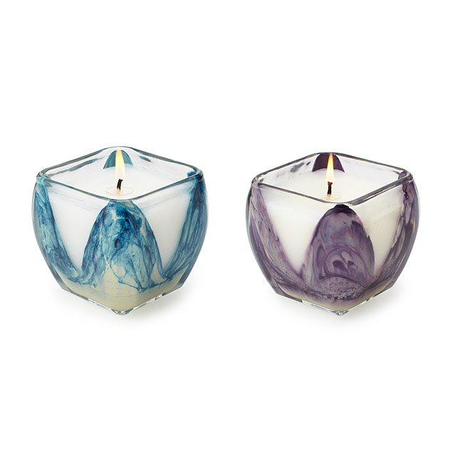 Hand Painted Element Candles