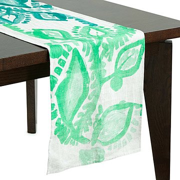 Abstract Floral Table Runner