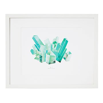 Gem and Mineral Print