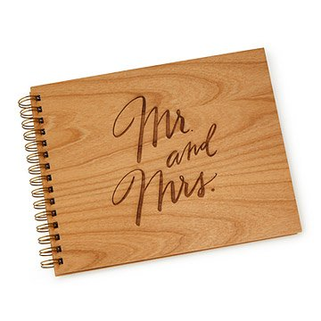 Mr & Mrs Wedding Guestbook