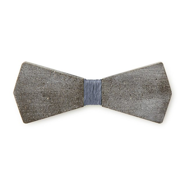Concrete Arrow Bow Tie