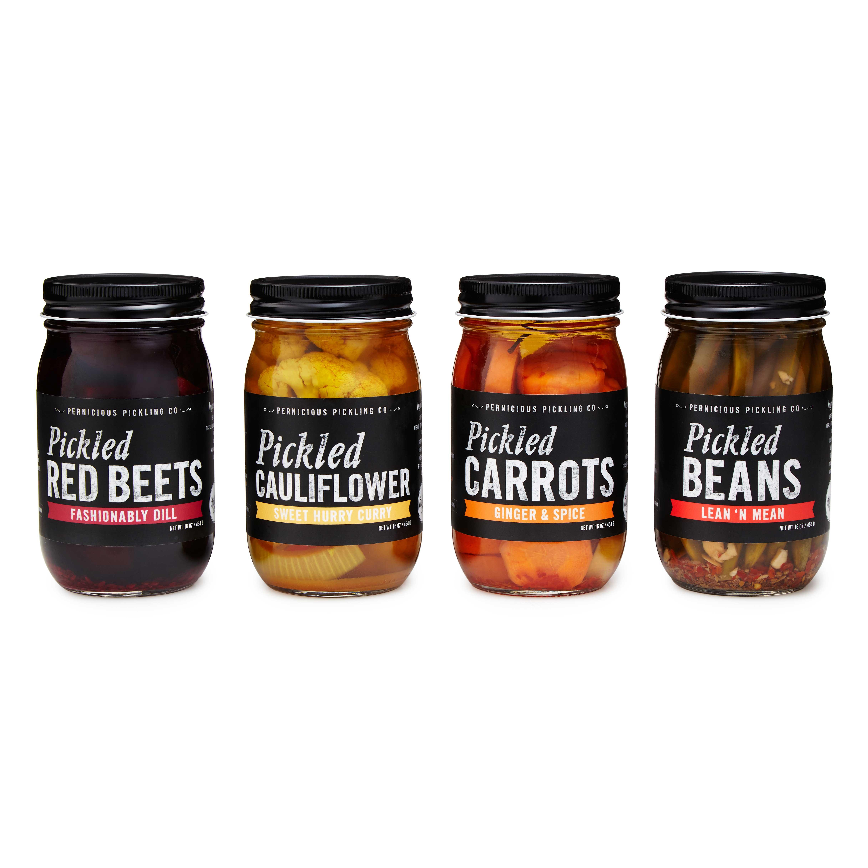 Pickled Vegetables - Set of 4