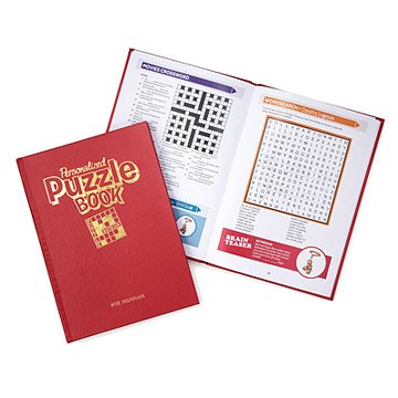 Personalized Puzzles Book