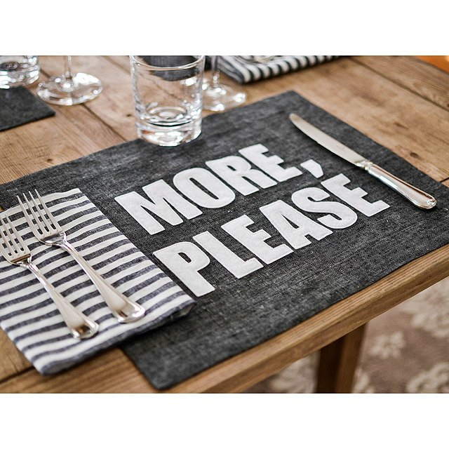 Appetizing Phrase Placemats