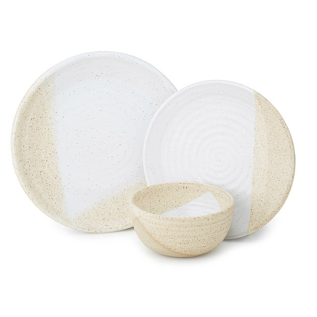 Oatmeal Stoneware Dishware Collection