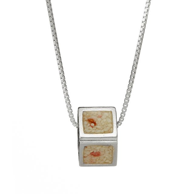 Custom Sandbox Cube Necklace