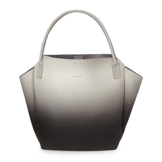 Black and Grey Ombre Tote