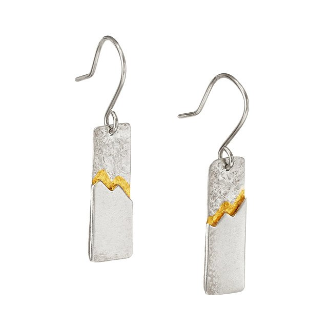 Ridge Earrings