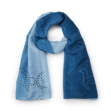 Filigree Laser Cut Scarf