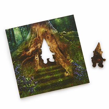 Enchanted Forest Wooden Heirloom Puzzle