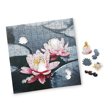 Zen Lotus Wooden Heirloom Puzzle